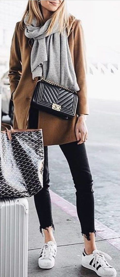 #spring #outfits black leather sling bag. Pic by @rome_fashion_style