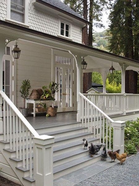 Veranda pillar alternative and railing option