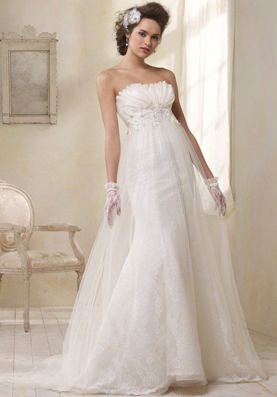 Modern Vintage by Alfred Angelo 8504 Wedding Dress - The Knot