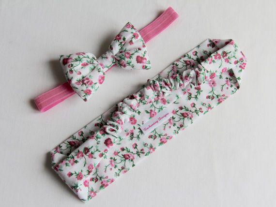 Mum & Baby Headband Set Pink Headband by EnchantingDesignsUK