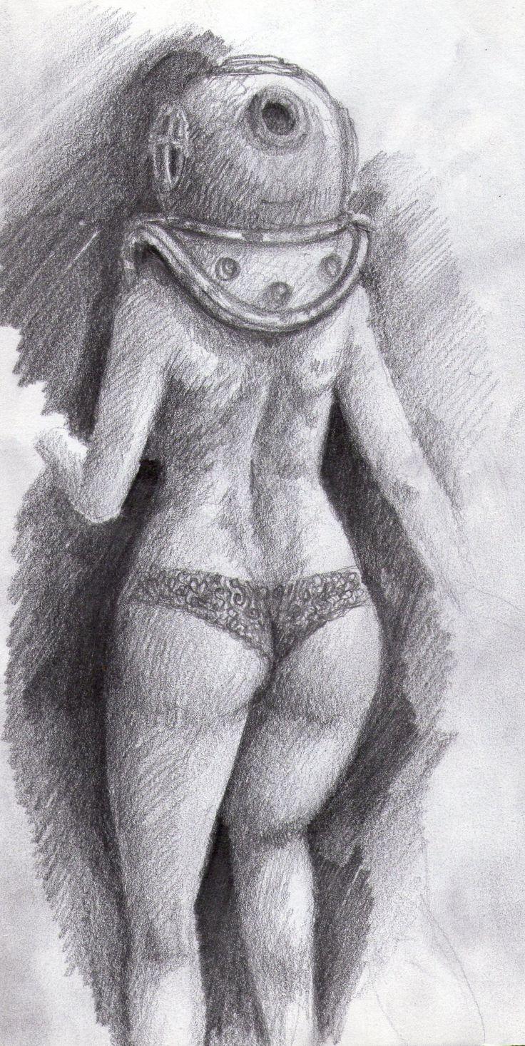 diving dress panty (an idea in progress)