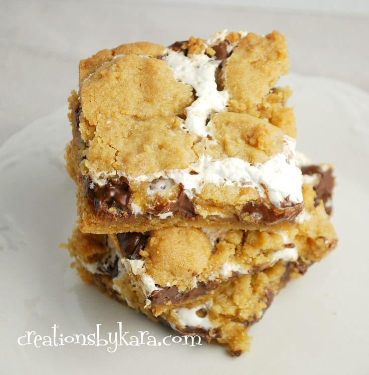 bars gooey smore smores flavor yummy smore treats 7 ooey gooey bars ...