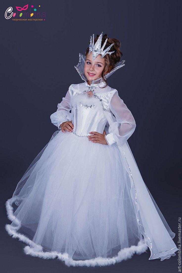 Детские карнавальные костюмы ручной работы. Костюм снежной королевы. Olga…