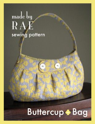 Buttercup Bag Sewing Pattern