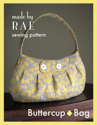 pleated handbag tutorial