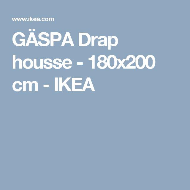 GÄSPA Drap housse - 180x200 cm - IKEA