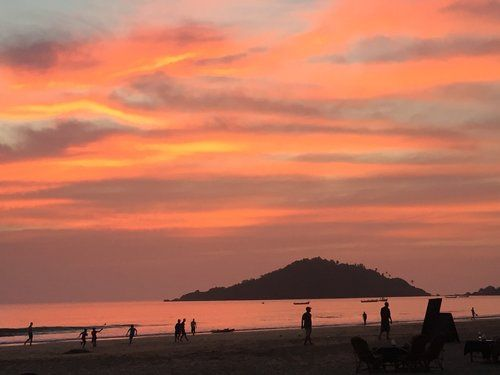 Palolem beach, Boutique Yoga Holiday in Goa, India . An Akasha curated experience in January 2018 #yogaretreats #goa #india