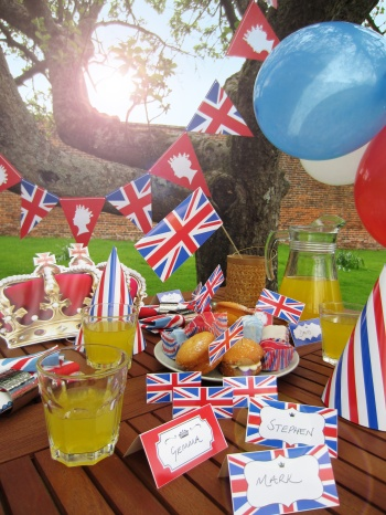 Queens Diamond Jubilee Party Pack