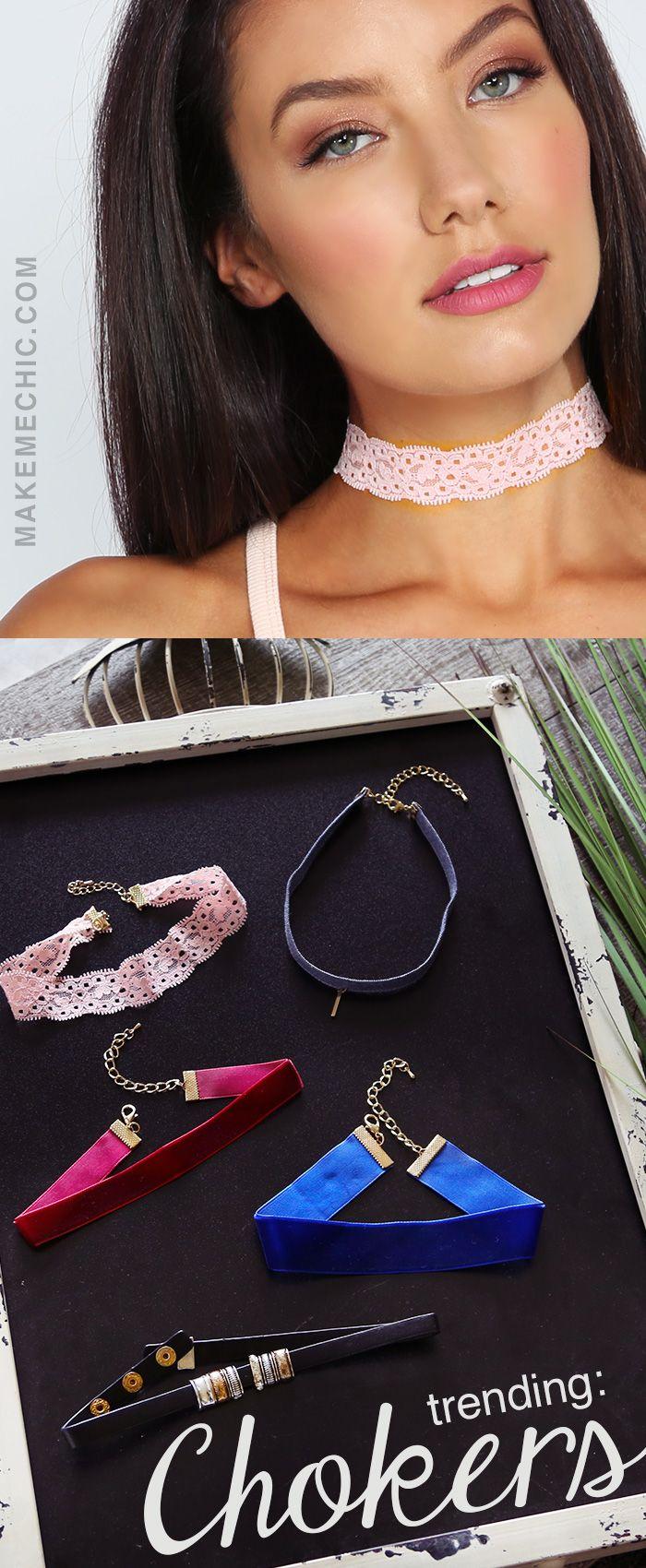 Velvet Choker Necklaces