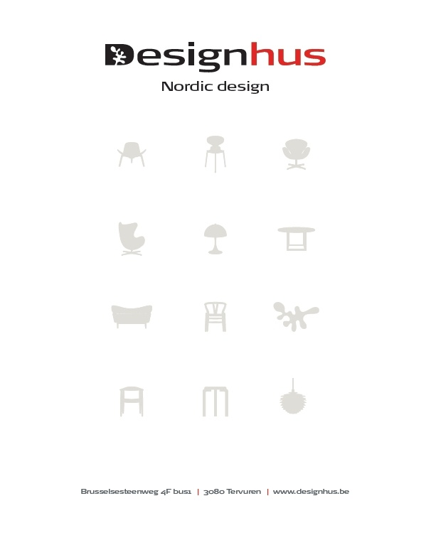 Designhus Tervuren - finest selection of Nordic design icons at display in our showroom