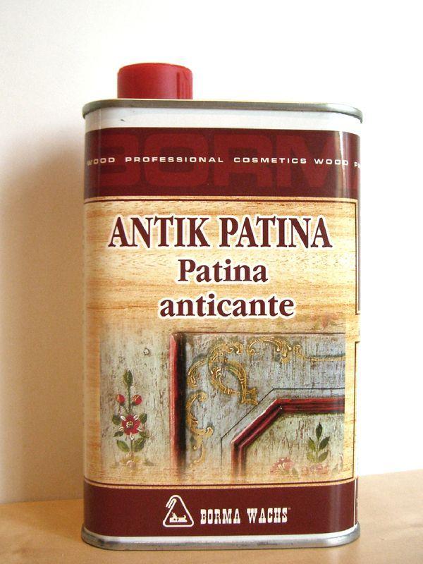 Antik Patina Retuschierlack Shabby Chic Mobel Lack Beize Holz
