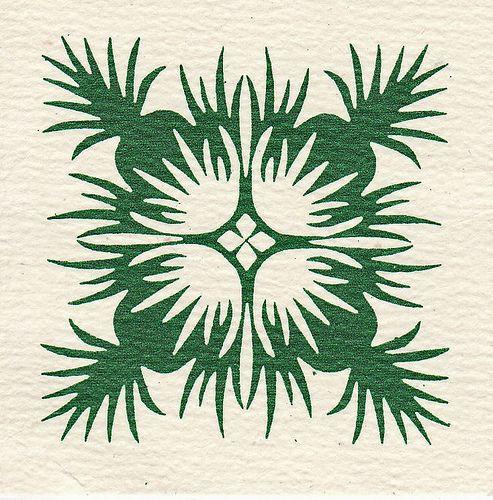 Hawaiian Quilt Design by Calsidyrose,
