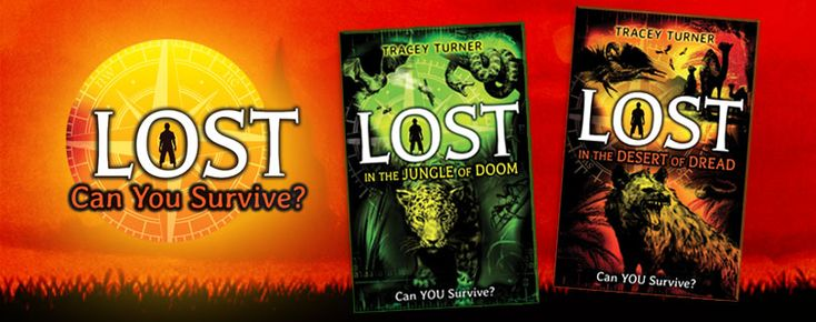 Lost series (Crabtree Publishing)_ Readers will get LOST in this amazing series of interactive adventures. Each story drops the reader deep in a different extreme environment. Readers learn vital facts along the way that will help them choose their own path to safety. Can you get out alive? Grades 5-8+