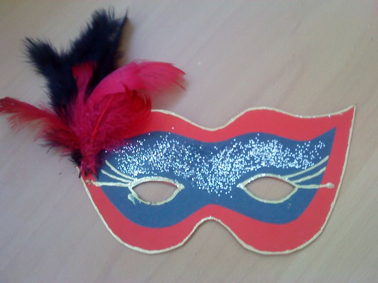 Maska na karneval - Carmen