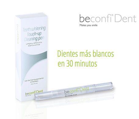 Ayuda a blanquea tus dientes en 30 minutos con el Lápiz Blanqueador Beconfi® Dent, sin peróxido $18.00€