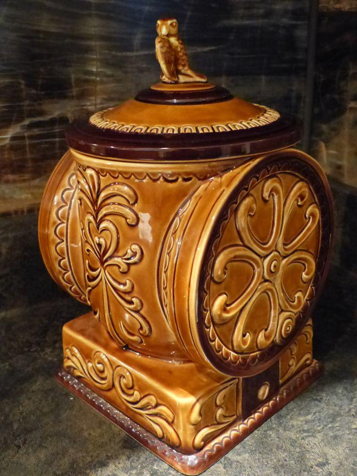 VINTAGE COFFEE MILL Cookie Jar / Vintage Coffee Grinder Cookie Jar / Made in Japan by JusFunkinAround on Etsy  $39