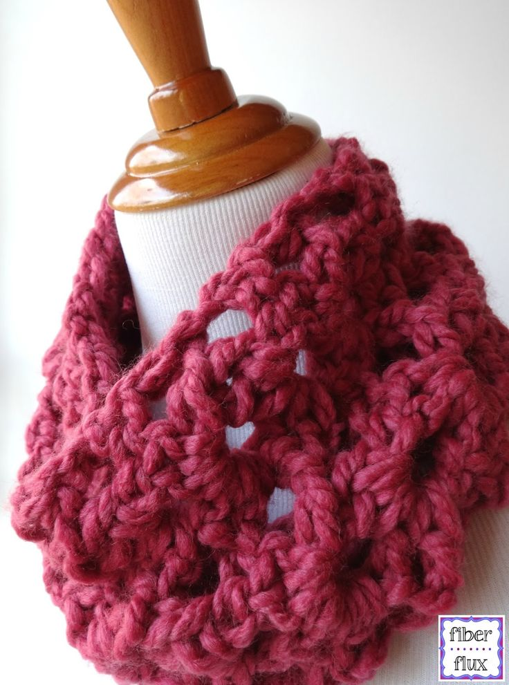 Free Crochet Pattern...Agnes Lace Cowl!