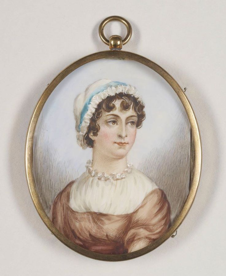 Jane Austen miniature portrait