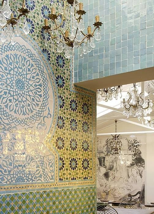 pics of tiles on moroccan houses | Moroccan Tiles