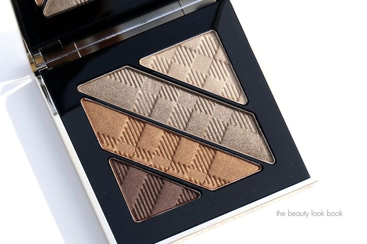 The Beauty Look Book: Burberry Beauty Gold No. 25 Complete Eye Palette