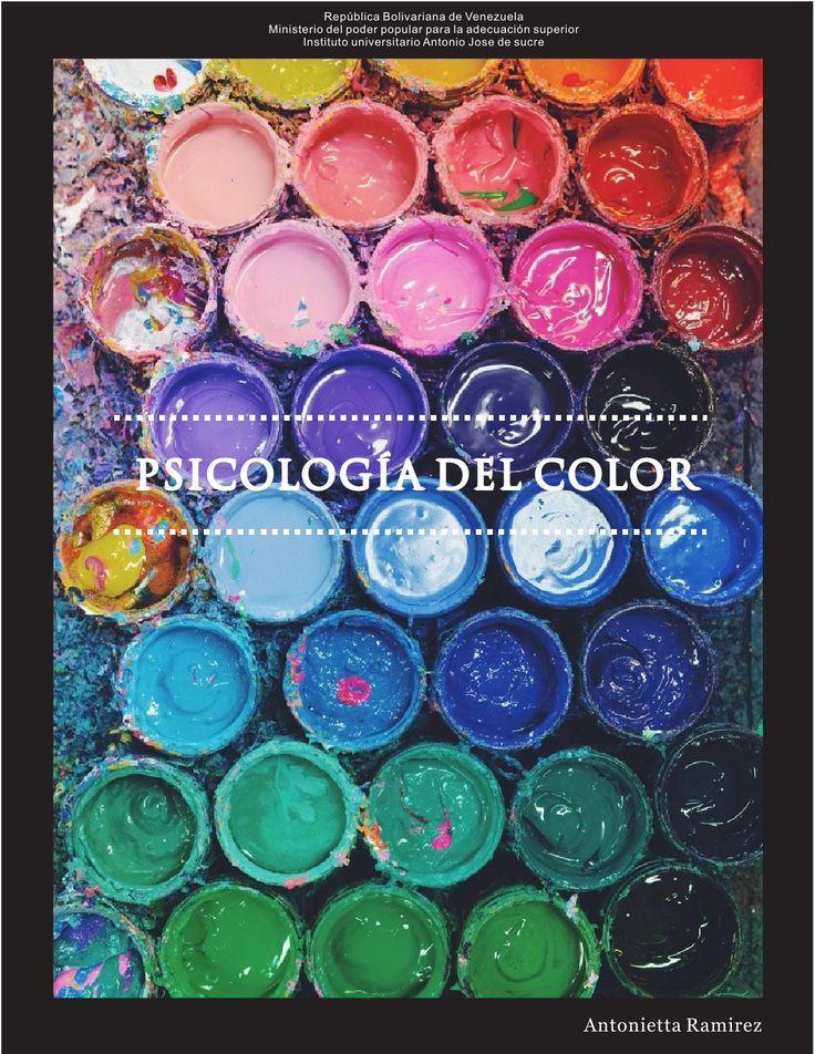 Revista psicologia del color  información básica de la psicología del color