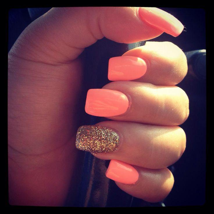 Love this orange-peach color