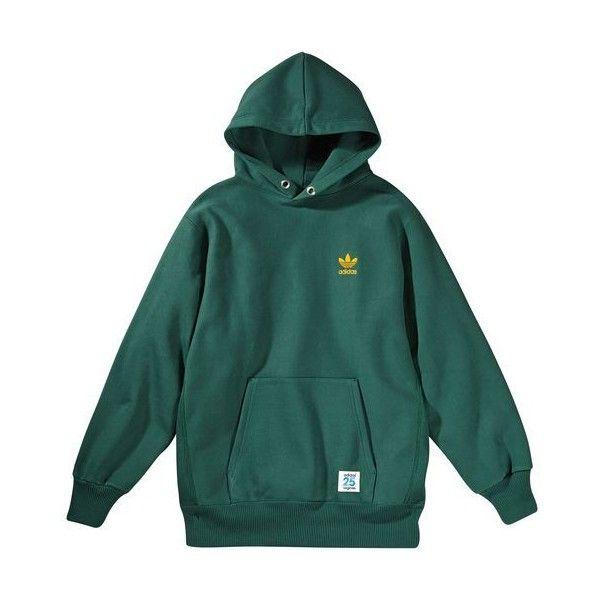 Nigo Heavyweight Hoodie ($33) ❤ liked on Polyvore featuring tops, hoodies, sweaters, sweatshirts, jumpers, hoodie top, green hoodies, hooded pullover, green hoodie and sweatshirt hoodies
