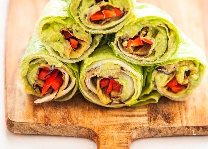 Slawraps met maar 6 ingrediënten Deze gezonde recepten maak je met slechts 6 ingrediënten.  Recepten: Chicks love food Foto: Harold Pereira