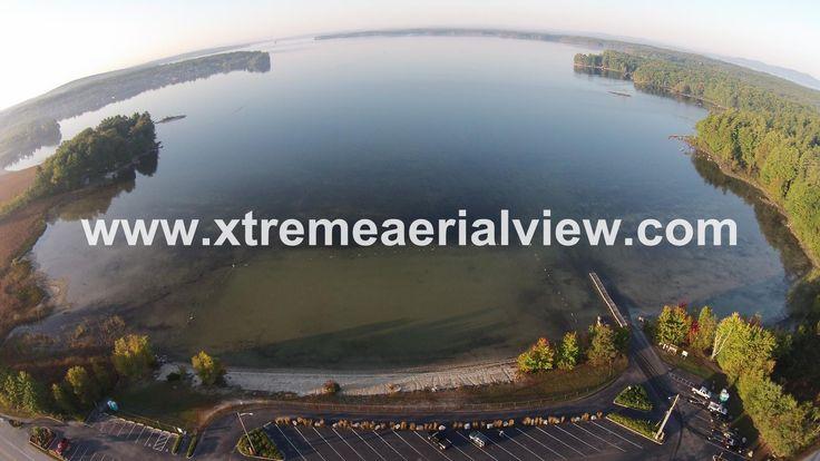 View of Sebago Lake from Town of Sebago Public Beach
