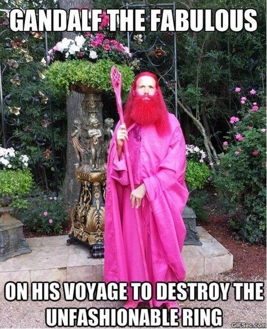 Gandalf #MEME http://ibeebz.com