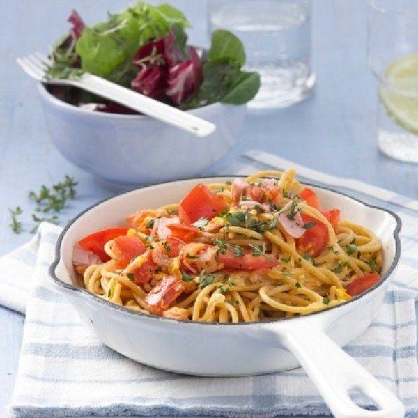 Pastasalade als #lunch en geen #ProPoints waarden tellen! #PowerStart #WeightWatchers #WWrecept