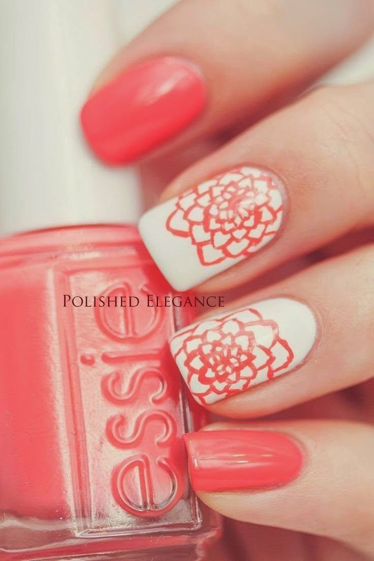 199 best flowers nail art designs images on pinterest nail art this pin was discovered by michaela fashion trends see more about flower nail art flower nails and nail arts dhlflorist Image collections