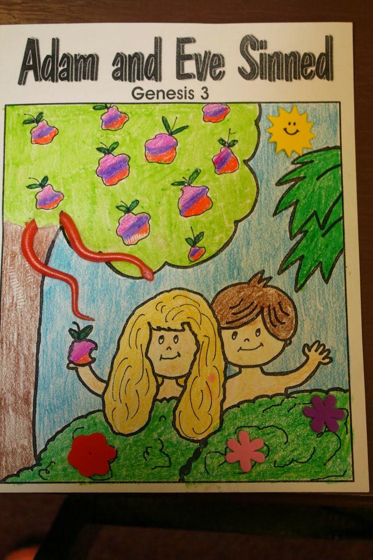 26 best Adam and Eve images on Pinterest   Sunday school, Sunday ...