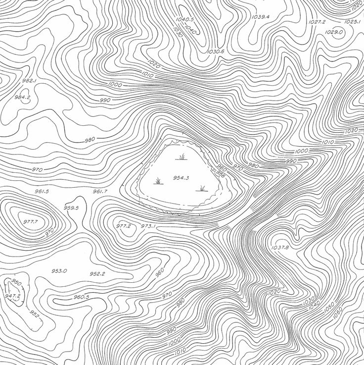 how to draw contour lines on weather map
