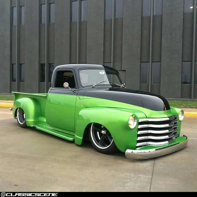 1953 Chevy Truck..Re-pin...Brought to you by #CarInsurance at #HouseofInsurance in Eugene, Oregon