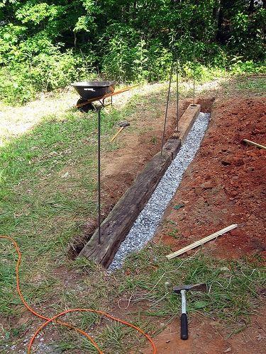 72 best steps up a slope images on pinterest landscaping for Landscape drainage slope