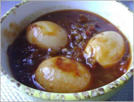 Indonesische eieren!