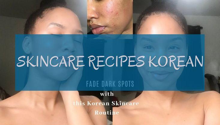skincare recipes Korean * hautpflege-rezepte koreanisch