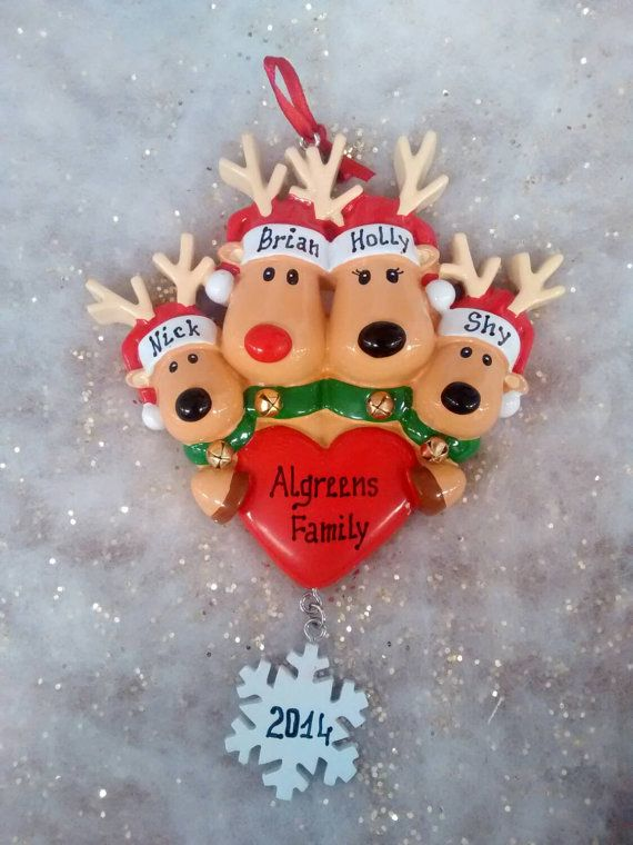 Hey, I found this really awesome Etsy listing at https://www.etsy.com/listing/212055840/new-raindeer-family-personalized