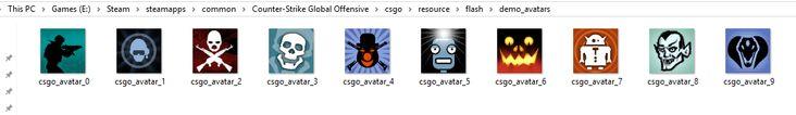 New Folder named demo_avatars added