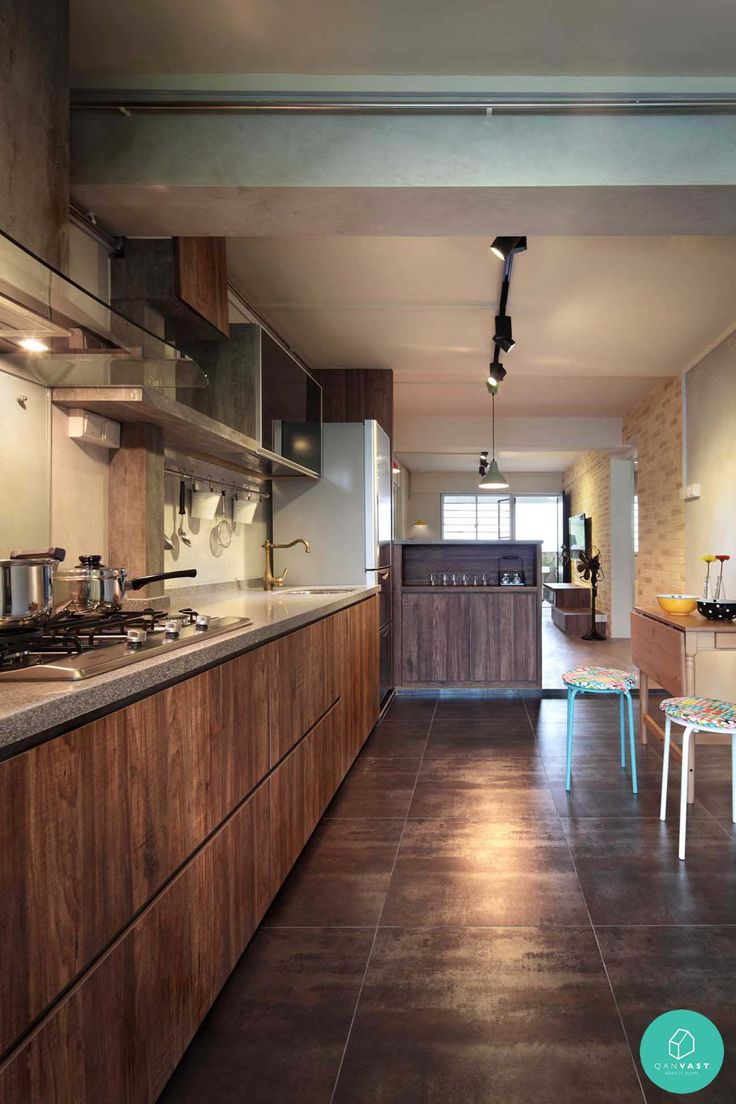 Hdb wood kitchen for Kitchen ideas hdb