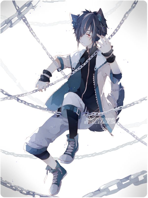 Anime Neko Boy                                                                                                                                                                                 Mais