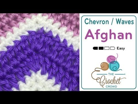 How to Double Crochet A Wave Afghan + Tutorial - The Crochet Crowd