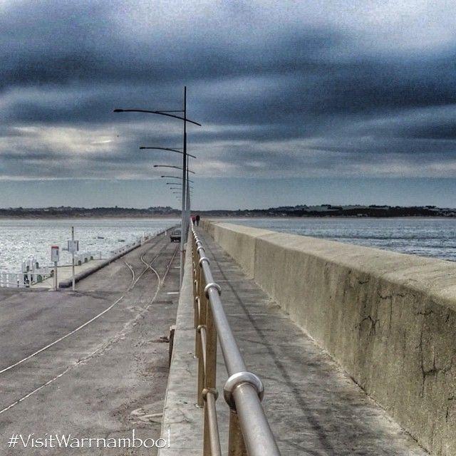 #Warrnambool breakwater from @visitWarrnambool on Instagram #visitWarrnambool