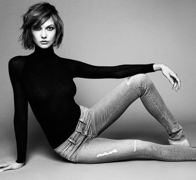 Karlie Kloss. Love her hair
