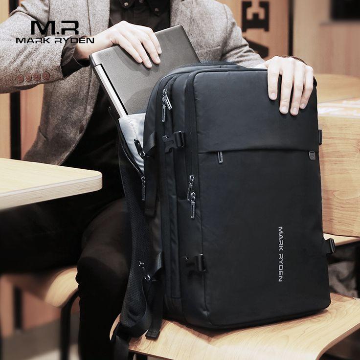 Mark Ryden <b>Man Backpack</b> Fit 17 inch <b>Laptop</b> USB Recharging ...