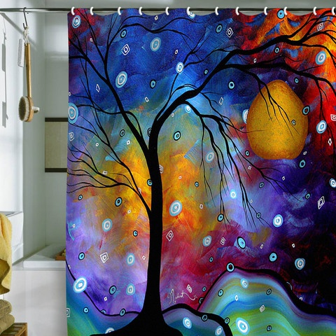 Madart Inc. Winter Sparkle Shower Curtain...too bad it costs so much!