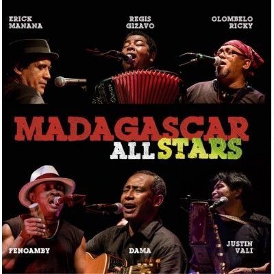 Retirage (avec une nouvelle pochette) du 1er album des MADAGASCAR ALL STARS, avec Dama, Marius Fontaine Fenoamby, Justin Vali, Regis Gizavo, Erick Manana & Olombelo Ricky