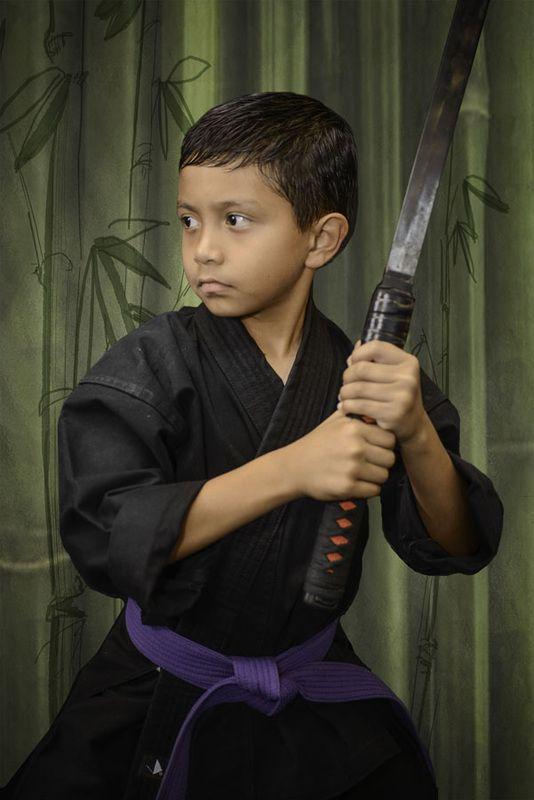 Karate Academy San Antonio Jason Brown Photography Sword Picture