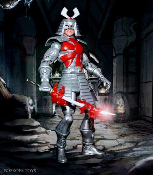 toycutter: Silver Samurai action figure (Marvel Comics)